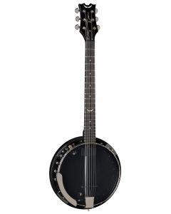 Dean Backwoods 6 Banjo w/Pickup Black Chrome BW6E BC sku number BW6E BC