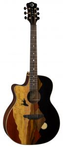 Luna Vista Wolf Tropical Wood Left Handed Acoustic Electric Guitar w/Case VISTA WOLF L VISTA WOLF L