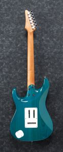 Ibanez AZ Prestige AZ2204F TAB Transparent Aqua Blue Electric Guitar w/Case AZ2204FTAB