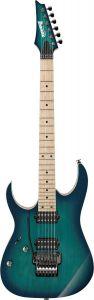 Ibanez RG Prestige w/Case Left Handed Nebula Green Burst RG652AHML NGB Electric Guitar RG652AHMLNGB