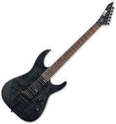 ESP LTD M-200FM Electric Guitar See Thru Black B Stock LM200FMSTBLK.B