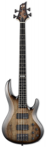 ESP E-II BTL-4 String Bass Guitar in Black Natural Burst EIIBTL4BLKNB