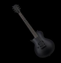 ESP LTD EC-Black Metal Electric Guitar Black Satin Left Handed LECBKMBLKSLH