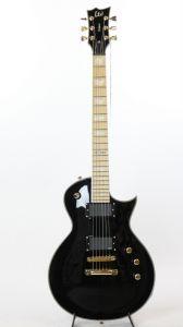ESP LTD EC-1000T CTM Maple Black B-Stock Electric Guitar LEC1000TCTMMBLK_0372