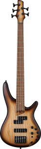 Ibanez SR Standard SR655E 5 String Natural Flat Bass Guitar SR655ENNF