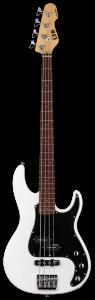 ESP LTD AP-204 Snow White 4 String Bass Guitar LAP204SW