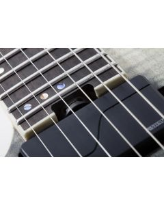 Schecter C-1 FR SLS Elite Left Hand Electric Guitar in Black Fade Burst SCHECTER1361