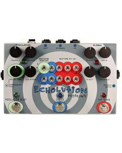 Pigtronix PHI Echolution Tap Tempo Analog Delay with Modulation Guitar Pedal sku number PHI