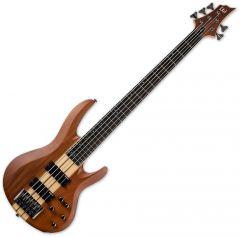 ESP LTD B-5E Electric Bass Natural Satin LB5EMNS