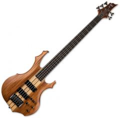ESP LTD F-5E Electric Bass Natural Satin LF5EMNS