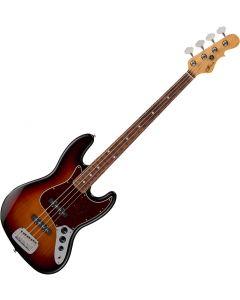 G&L Fullerton Deluxe JB Electric Bass 3-Tone Sunburst sku number FD-JB-3TS-CR