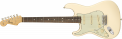 Fender American Original '60s Stratocaster Left-Hand  Olympic White Electric Guitar 110121805