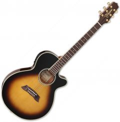Takamine Thinline Series TSP138C TBS Acoustic Electric Guitar Gloss Tobacco Sunburst TAKTSP138CTBS