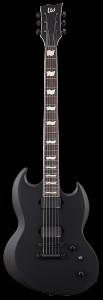 ESP LTD VIPER-400 Baritone Black Satin Electric Guitar B-Stock LVIPER400BBLKS.B