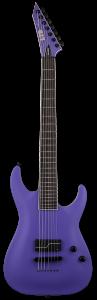ESP LTD SC-607 Baritone 1 Hum Stephen Carpenter Deftones Purple Electric Guitar w/Case B-Stock LSC607B1HPS.B