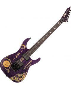 ESP LTD KH-OUIJA Kirk Hammett Limited Edition Guitar in Purple Sparkle LKHOUIJAPSP