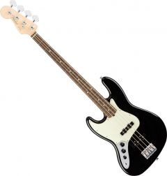 Fender American Pro Jazz Bass Electric Guitar Left-Hand Black 0193920706