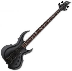ESP LTD Tom Araya TA-204 FRX Electric Bass Black Satin B-Stock LTA204FRXBLKS.B