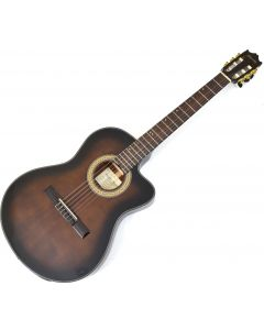 Ibanez GA35TCE Thinline Classical Acoustic Electric Guitar Dark Violin Sunburst B-Stock 1408 sku number GA35TCEDVS.B 1408