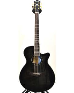 Ibanez AEG240 Thinline Acoustic Electric Trans Black Sunburst B-Stock 1185 AEG240TKS.B 1185
