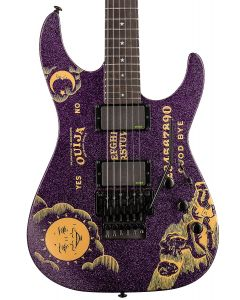 ESP LTD KH-OUIJA Kirk Hammett Limited Edition Guitar in Purple Sparkle LKHOUIJAPSP