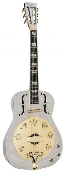 Dean Resonator Thin Body Electric Guitar Chrome/Gold RESCG RESCG