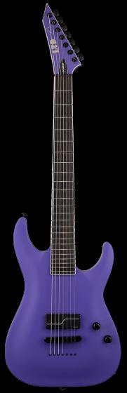 ESP LTD SC-607 Baritone 1 Hum Stephen Carpenter Deftones Purple Electric Guitar w/Case sku number LSC607B1HPS
