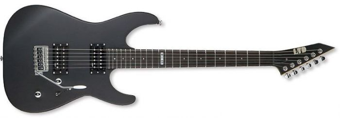 ESP LTD M-50 Guitar in Black Satin B-Stock sku number LM50BLKS.B