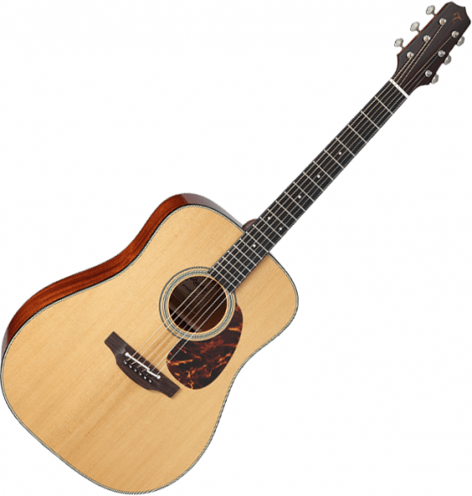 Takamine EF340S-TT Dreadnought Acoustic Guitar Gloss Natural TAKEF340STT
