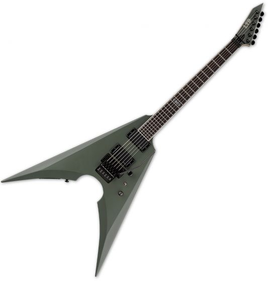 ESP LTD MK-600 Mille Petrozza Electric Guitar Military Green Satin B-Stock LMK600MGS.B