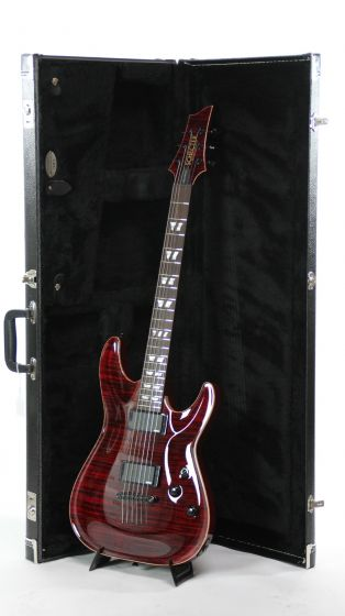 Schecter USA Custom Hollywood Classic Black Cherry Electric Guitar 6S14-07017