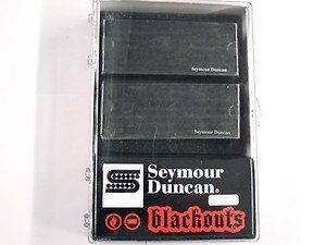 Seymour Duncan AHB-1S Blackouts 7-String Phase 2 Pickup Set 11106-38-B-7Str