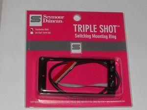Seymour Duncan TS-1S Triple Shot Mounting Ring Switching System Flat Set 11806-02