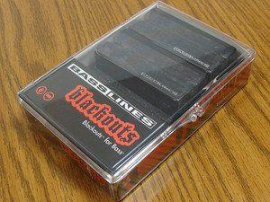 Seymour Duncan ASB-BO-4S Blackouts For Bass 4-String Pickup Set 11407-11