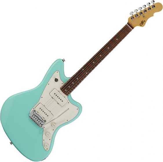 G&L Fullerton Deluxe Doheny Electric Guitar Surf Green FD-DOH-SRF-CR