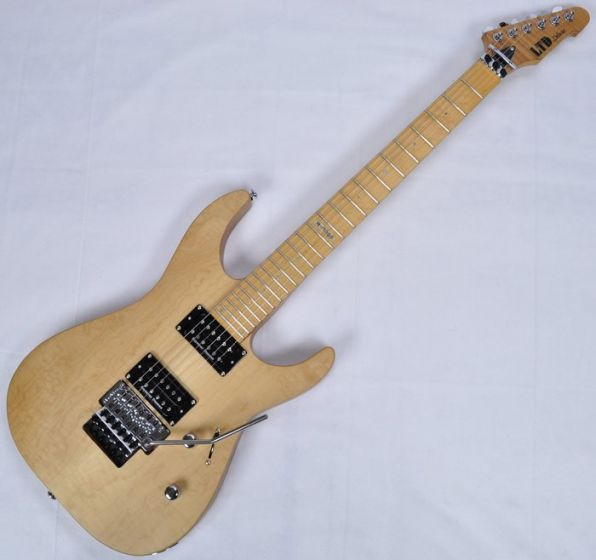 ESP LTD Deluxe M-1000SE Electric Guitar in Vintage Natural Satin sku number LM1000SEVNS