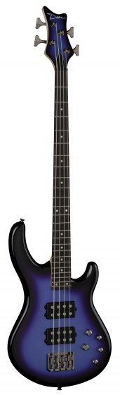 Dean Edge 3 Bass Guitar Electric Purple Metallic Burst E3 EPMB E3 EPMB