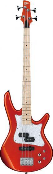"Ibanez SR Mezzo SRMD200 4 String 32"" Medium Scale Roadster Orange Metallic Bass Guitar sku number SRMD200ROM"