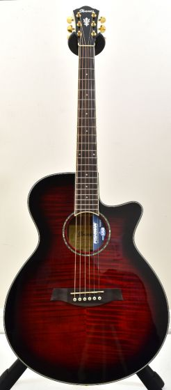 Ibanez AEG240 Thinline Acoustic Electric Trans Red Sunburst B-Stock 1199 AEG240TRS.B 1199