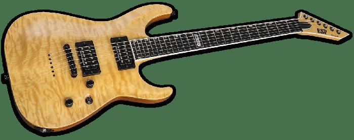 ESP USA Horizon-II Electric Guitar in Vintage Natural Duncan EUSHORIIVNATD