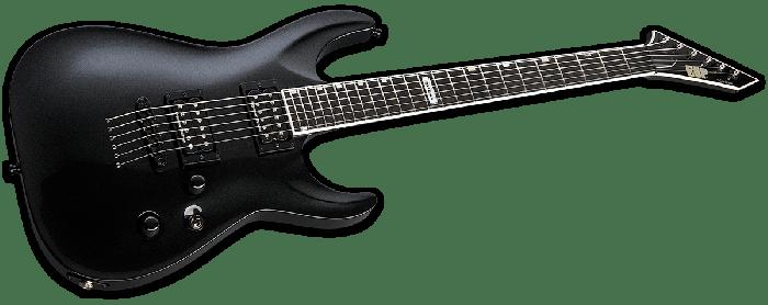 ESP USA Horizon-II Electric Guitar in Sapphire Black Metallic Duncan EUSHORIISBLKMD