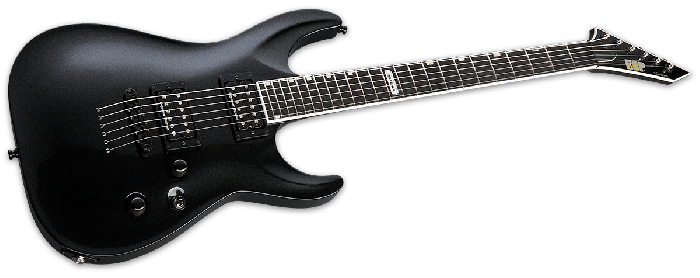 ESP USA Horizon-II Electric Guitar in Sapphire Black Metallic Duncan sku number EUSHORIISBLKMD
