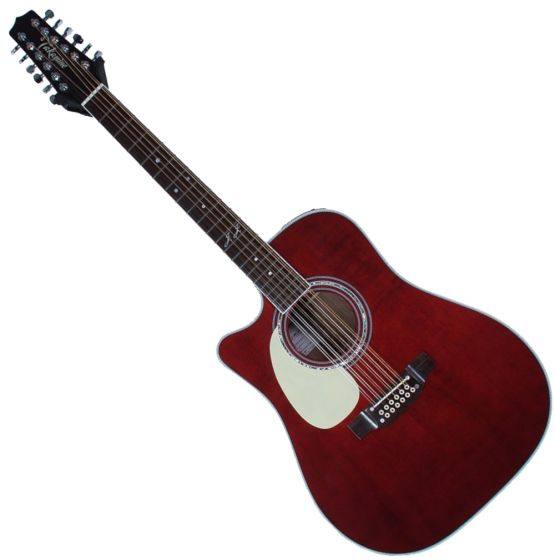 Takamine JJ325SRC 12 String Left Handed John Jorgenson Acoustic Guitar Gloss Polyurethane sku number TAKJJ325SRC12LH