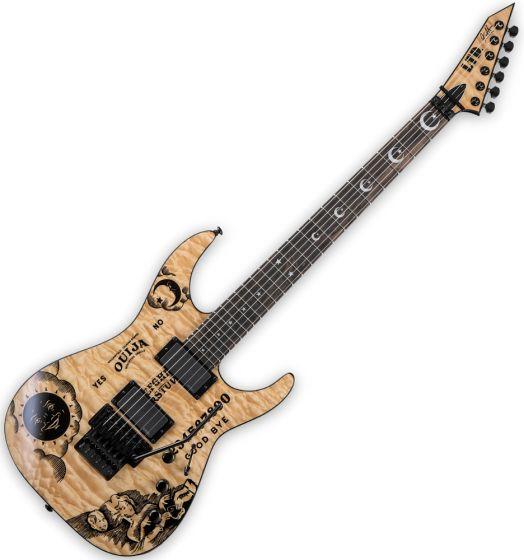 ESP LTD KH-Ouija Kirk Hammett Signature Guitar in Natural with Case LKHOUIJANAT