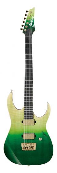 Ibanez Luke Hoskin Signature LHM1 TGG Transparent Green Gradation Electric Guitar w/Bag sku number LHM1TGG