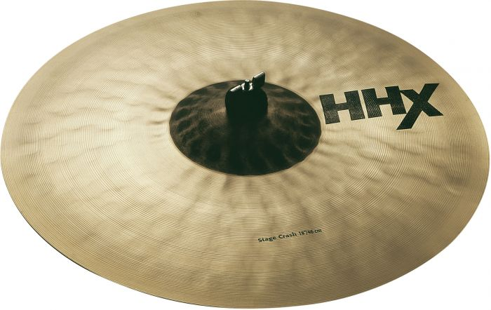 "Sabian 18"" HHX Stage Crash Brilliant Finish 11808XB"