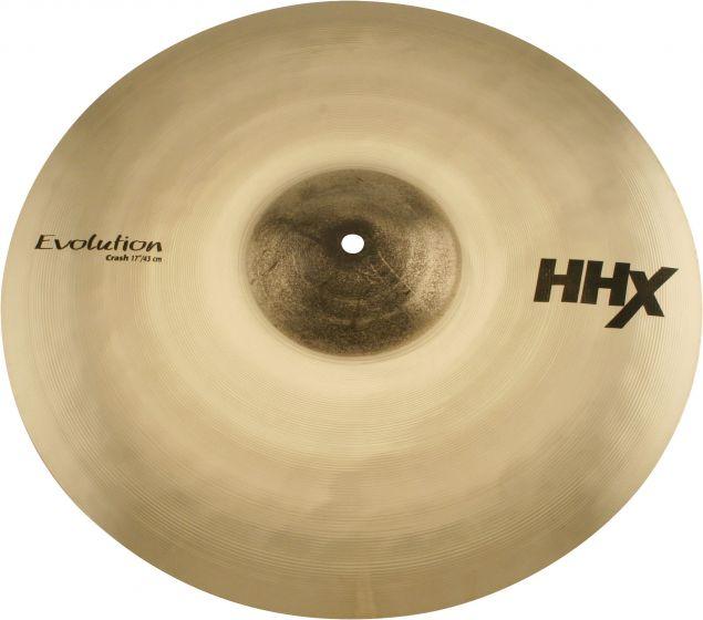 "Sabian 17"" HHX Evolution Crash Brilliant Finish 11706XEB"