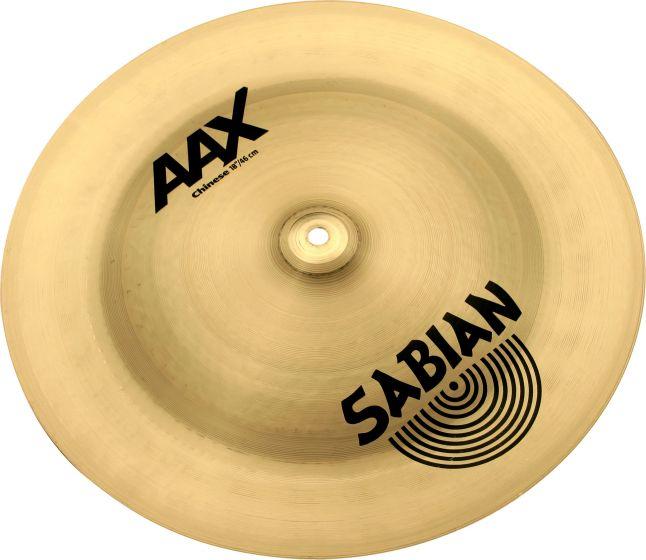"Sabian 18"" AAX Chinese Brilliant Finish 21816XB"