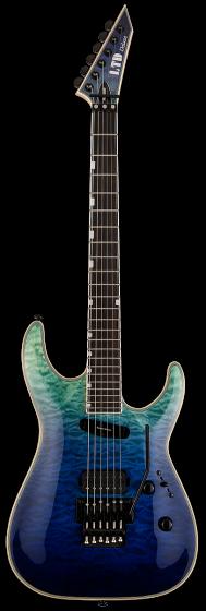 ESP LTD MH-1000HS Violet Shadow Fade Electric Guitar sku number LMH1000HSQMVSHFD