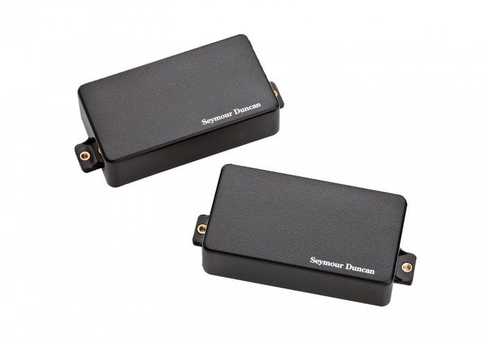 Seymour Duncan AHB-1S Original Blackouts Neck/Bridge Pickup Set Black Cover 11106-32-B
